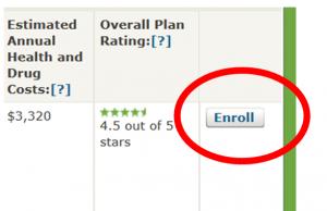medicare.gov Plan Enrollment