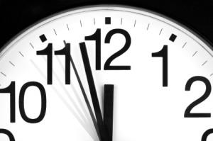 Clock Approaching 12:00