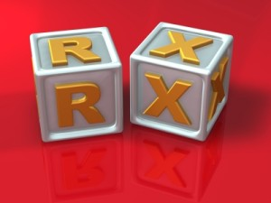 3D Blocks with Letters RX