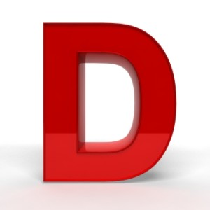 Red Letter D