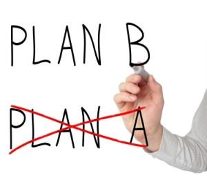 Plan A Plan B Written on Board