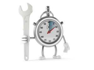 Stop Watch Figure Holding Tools